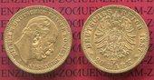 20 Mark Goldmünze, Preußen 1887 A Preußen, Prussia German Empire Wilhelm I. gutes ss