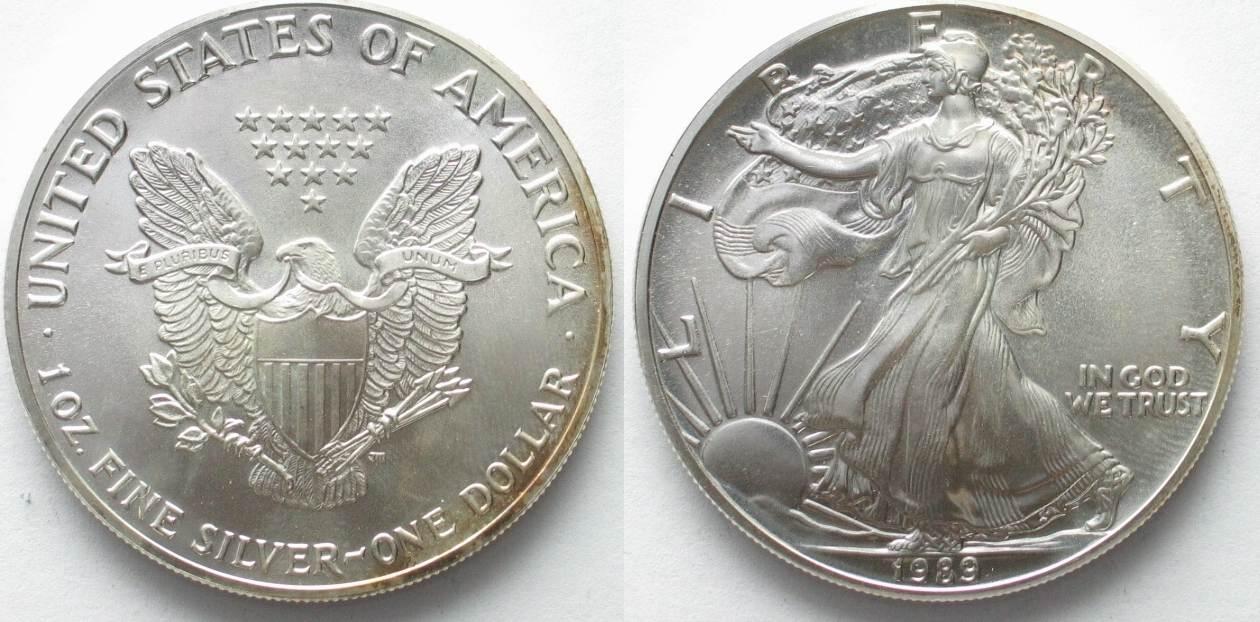 1989 vereinigte staaten von amerika us 1989 american eagle s.